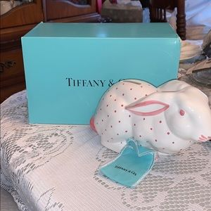 Tiffany bunny bank